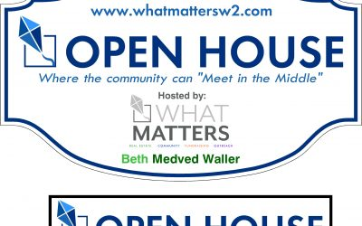 Open House:  Meet in the Middle, the WHAT MATTERS Community Meeting Space was Robbed