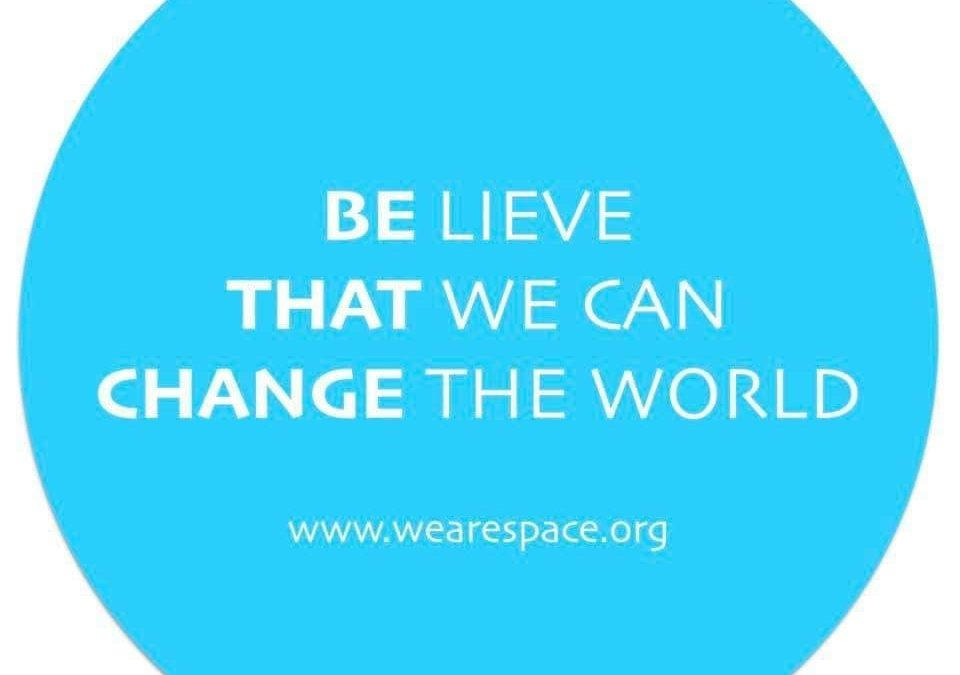 Let's spend Christmas and 2020 in SPACE—–Step into Peace, Acceptance, Compassion and Equality